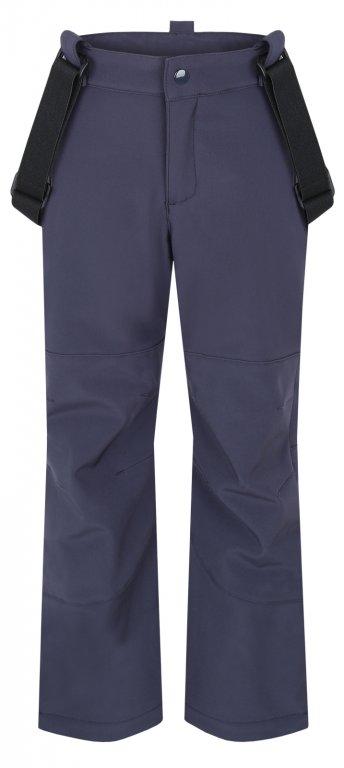 Chlapecké softshellové kalhoty Loap Cyrda tmavě šedé 128