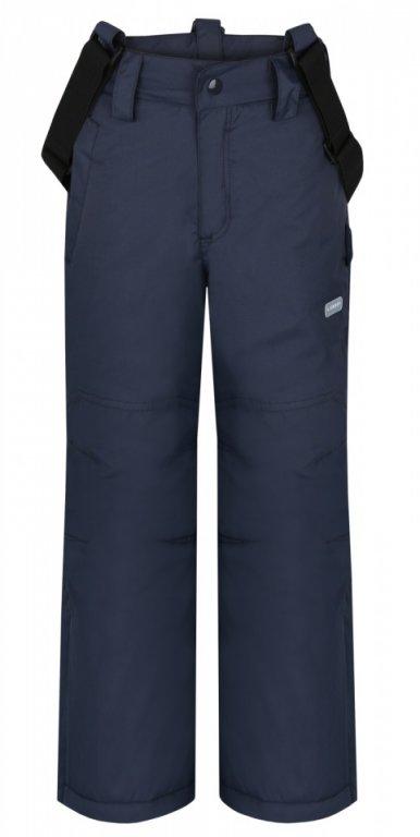Dětské lyžařské kalhoty Loap Omar vel. 128 tmavě šedé 128
