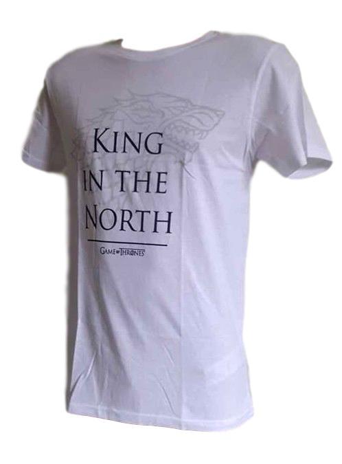 Pánské tričko Game of Thrones bílá M