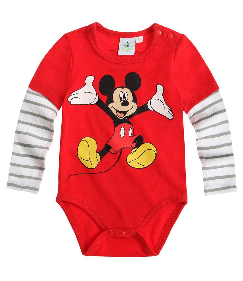 Dětské body Mickey Mouse vel. 62 červené 62