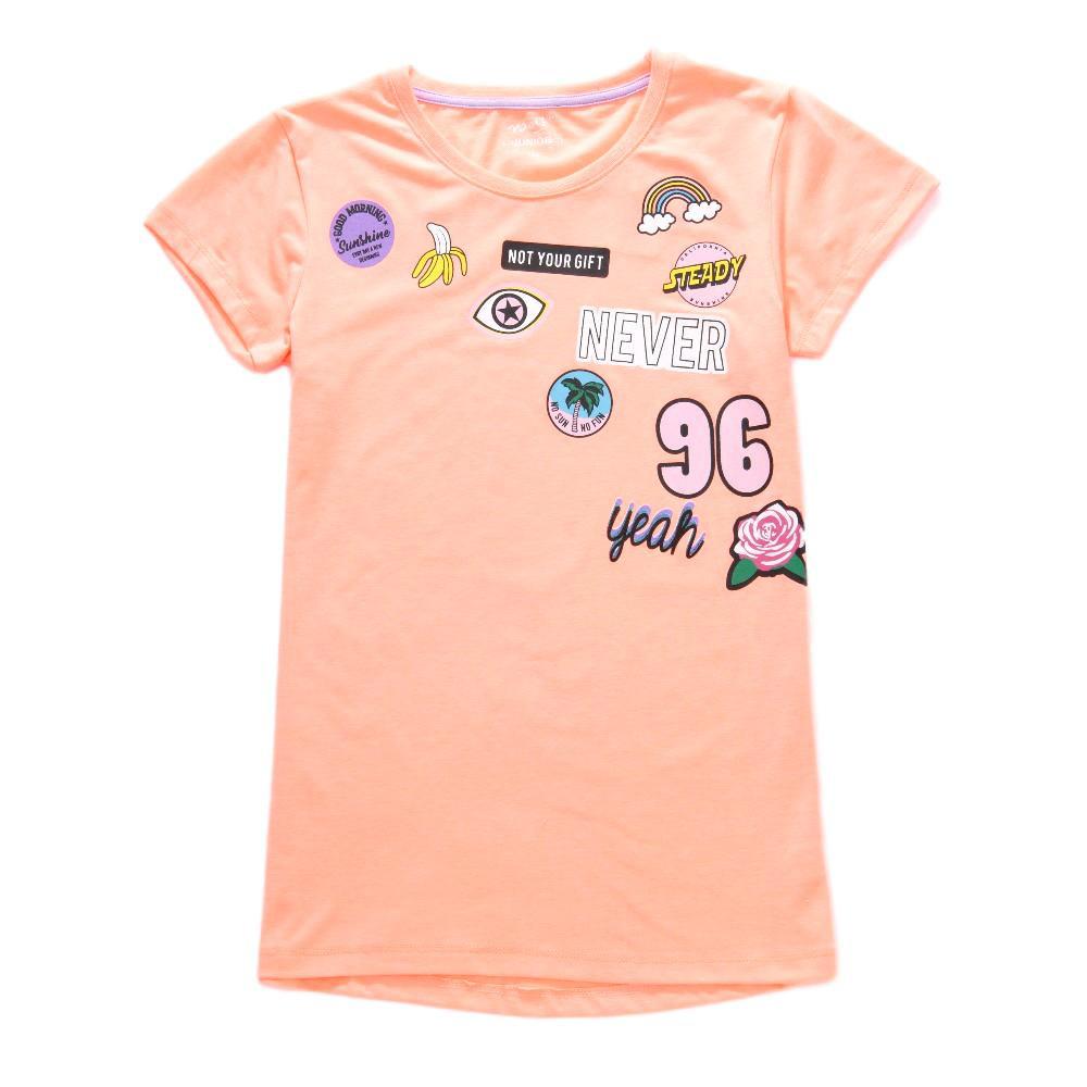 Dívčí tričko Wolf S2814 vel. 164 oranžové 164