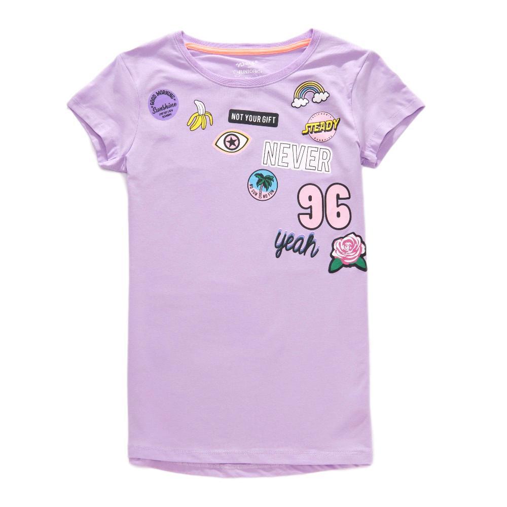 Dívčí tričko Wolf S2814 vel. 164 fialové 164