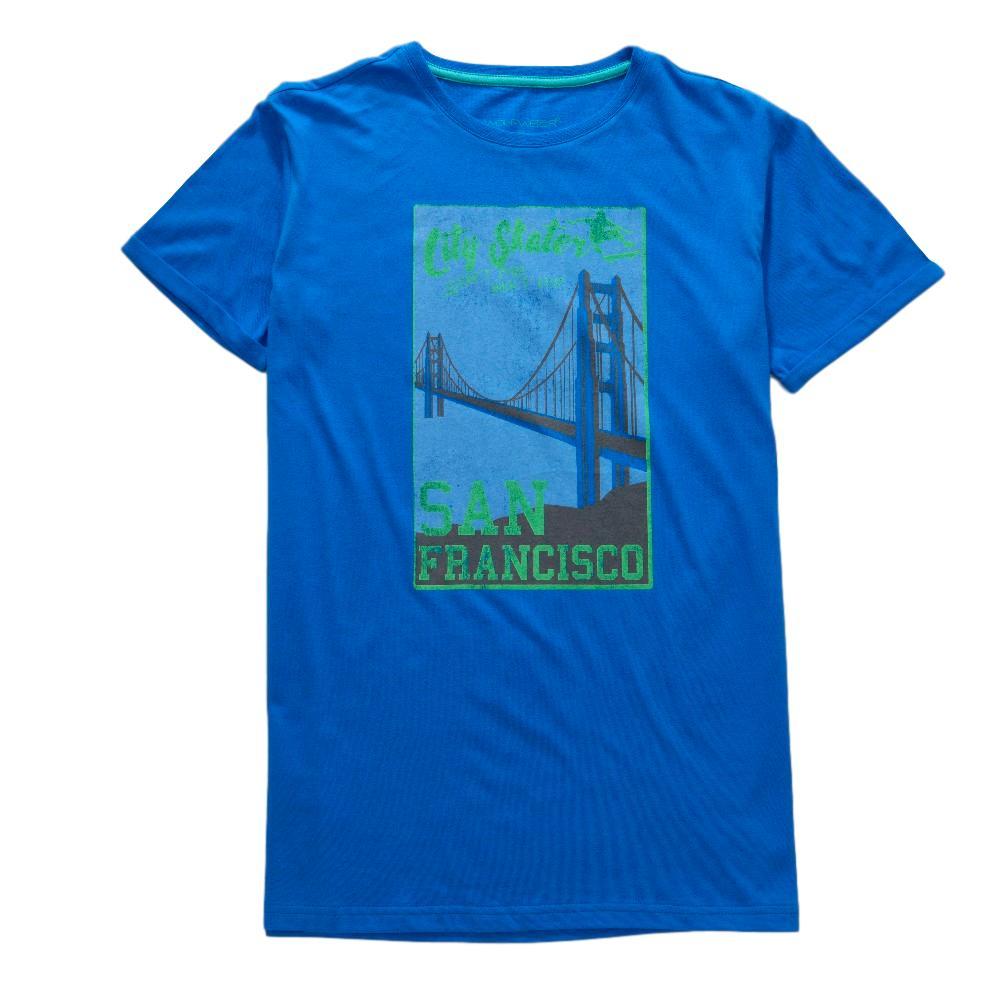 Chlapecké tričko Wolf modrá 164
