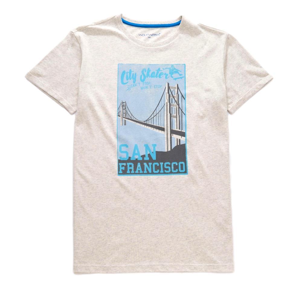 Chlapecké tričko Wolf šedá 164