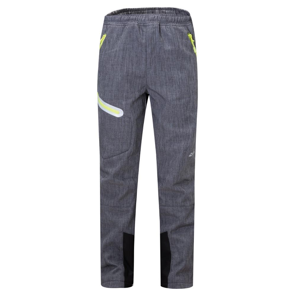 Dětské softshellové kalhoty Wolf B2896 s fleecem šedá 116