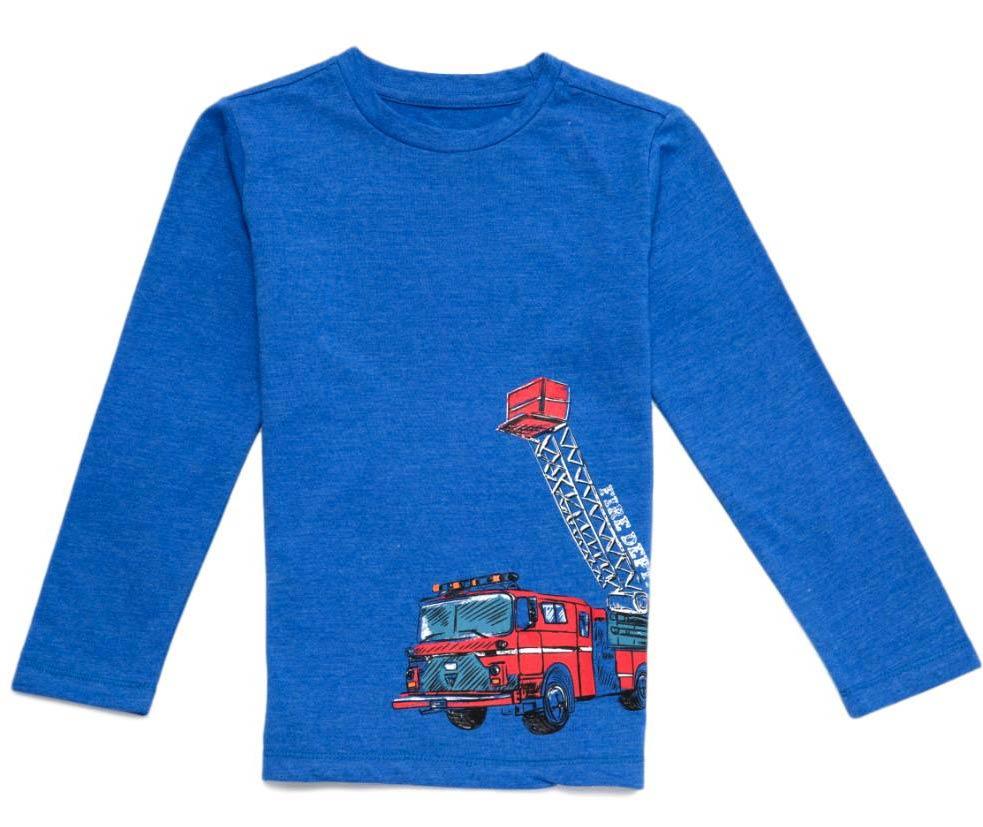 Chlapecké triko Wolf S2831 modré modrá 104