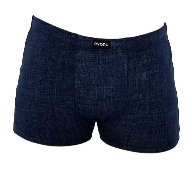 Pánské boxerky Evona 1181 jeans modrá L